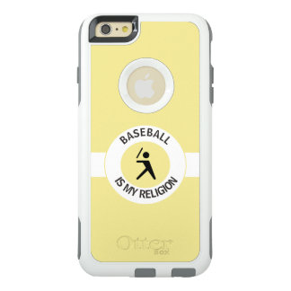 BASEBALL IS MY RELIGION OtterBox iPhone 6/6S PLUS CASE