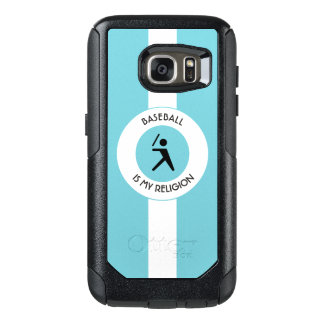 BASEBALL IS MY RELIGION OtterBox SAMSUNG GALAXY S7 CASE