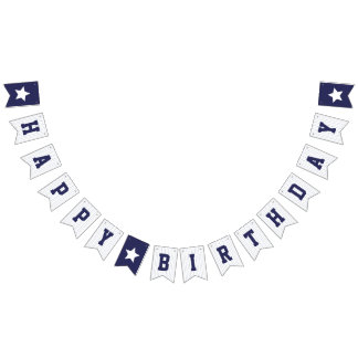 Baseball Jersey - Sports Theme Birthday Party Bunting Flags