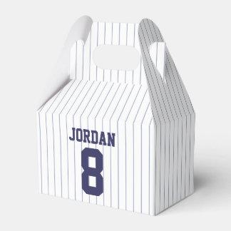 Baseball Jersey - Sports Theme Birthday Party Favor Box