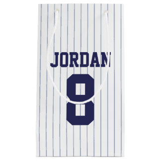 Baseball Jersey - Sports Theme Birthday Party Small Gift Bag