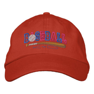 Baseball Kid Embroidered Hat
