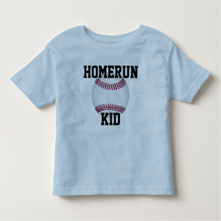 "Baseball Kids Shirt ""Homerun Kid"" Sports T-Shirt"