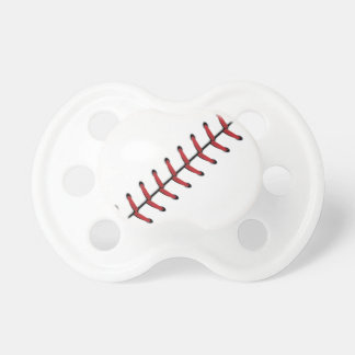 Baseball Lace Background 2 Baby Pacifier