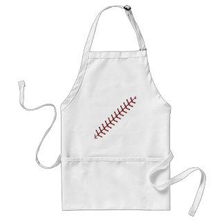 Baseball Lace Background 2 Standard Apron
