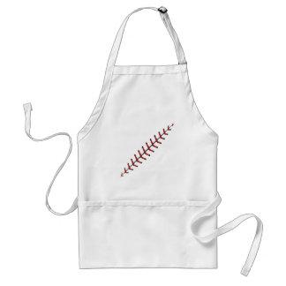 Baseball Lace Background 3 Standard Apron