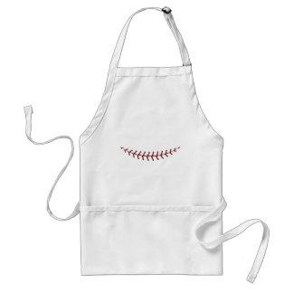 Baseball Lace Background 4 Standard Apron