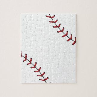 Baseball Lace Background 5 Jigsaw Puzzle