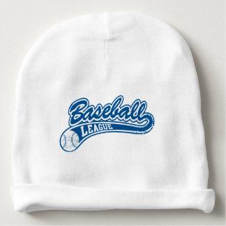 Baseball league baby beanie
