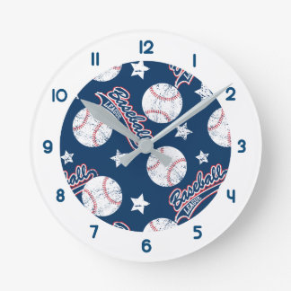 Baseball league wallclock