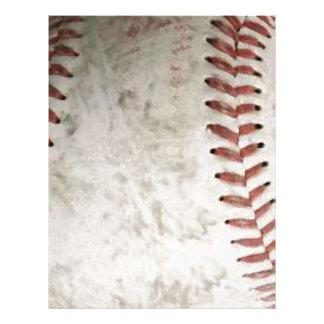 Baseball Letterhead