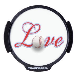 Baseball Lover Gift Idea LED Light Up Decal LED Window Decal