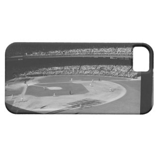 Baseball match on stadium case for the iPhone 5