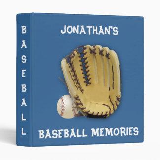 Baseball  Memories!-Personalize Vinyl Binder