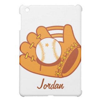 Baseball mitt iPad mini cover