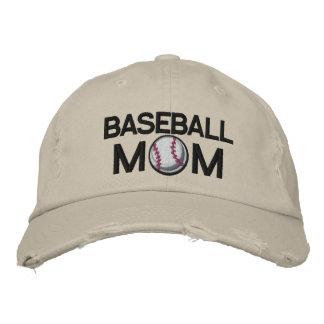Baseball Mom Embroidered Baseball Cap