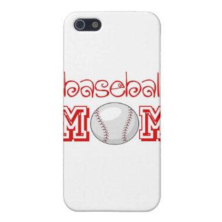 Baseball Mom iPhone 5/5S Cover