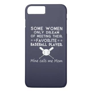 BASEBALL MOM iPhone 7 PLUS CASE