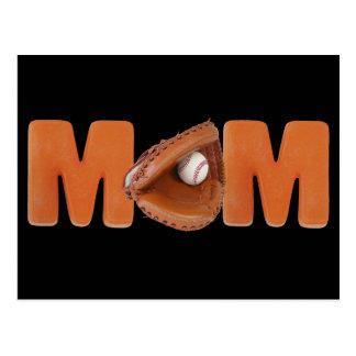 Baseball Mom Postcard