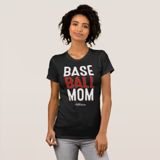 Baseball Mom Shirts Add Your Name