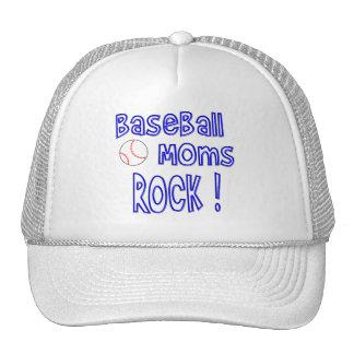 Baseball Moms Rock ! (blue) Trucker Hat
