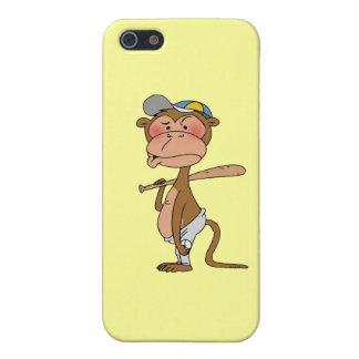 Baseball monkey iPhone 5/5S cover