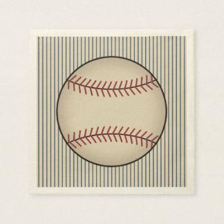Baseball Napkins Paper Napkins