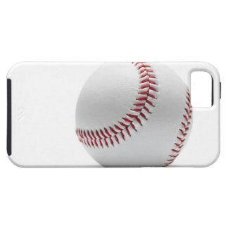 Baseball on white background iPhone 5 cover