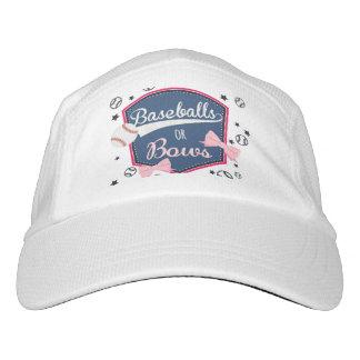 baseball or bows hat