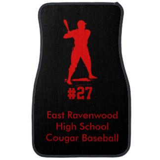 Baseball Personalized Car Mat