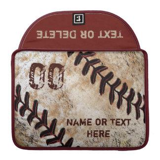 Baseball Personalized MacBook Pro Case 13, 15 in