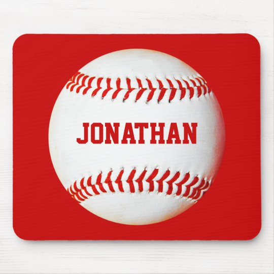 Baseball Personalized Mousepad