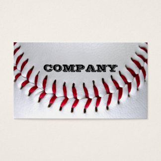 Baseball Photo Business Cards