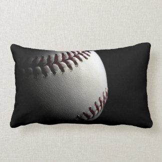 baseball photo close up pillow