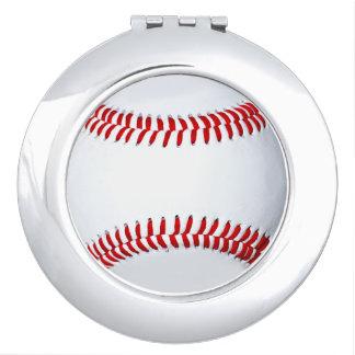 Baseball Photo Compact Mirror