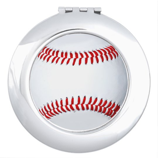 Baseball Photo Compact Mirror