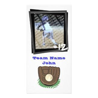 Baseball Photocard Custom Photo Card