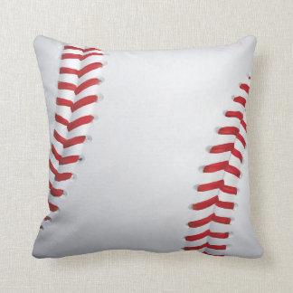 baseball pillow stitches boys room decor