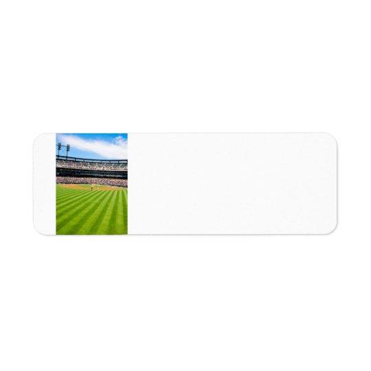 Baseball Postage Address Thingy