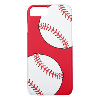 Baseball Print Phone Case