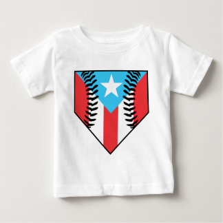 Baseball Puerto Rico Baby T-Shirt