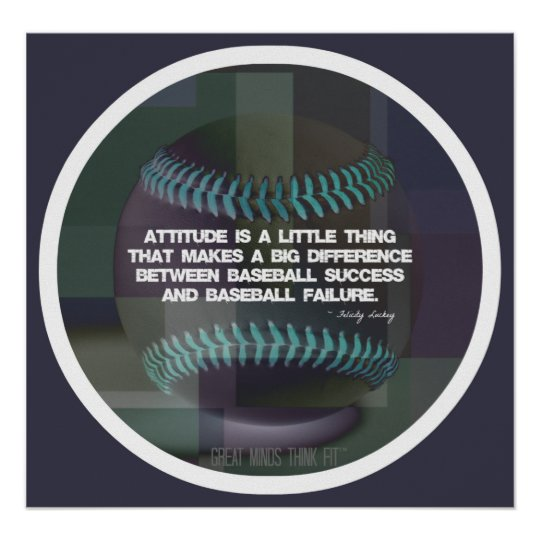 Baseball Quote Poster 010