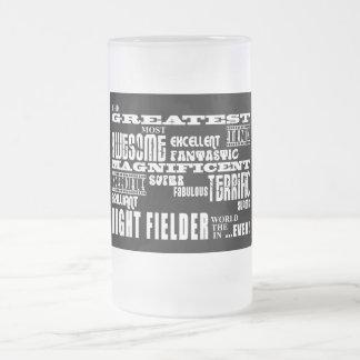 Baseball Right Fielders : Greatest Right Fielder Glass Beer Mug