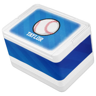 Baseball; Royal Blue Stripes