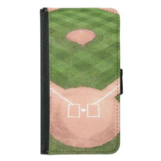 Baseball Samsung Galaxy S5 Wallet Case
