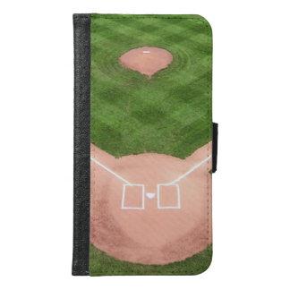 Baseball Samsung Galaxy S6 Wallet Case