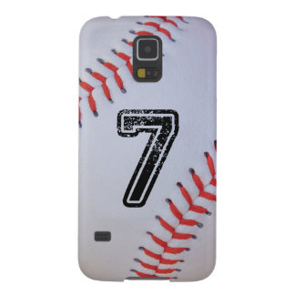 Baseball Samsung S5 case with #7