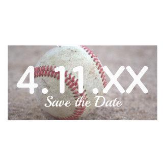 Baseball Save the Date Card