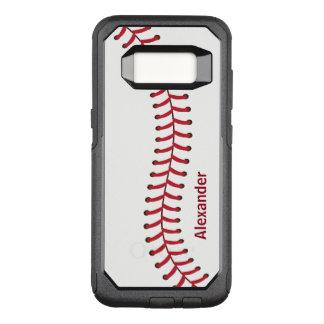 Baseball seam pattern name monogram