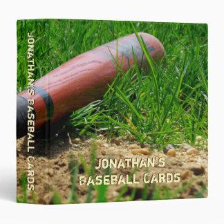 Baseball Season Custom 3 Ring Binders